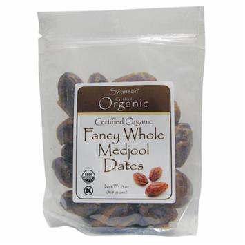 Swanson Organic Fancy Whole Medjool Dates 13 oz (368 g) Pkg