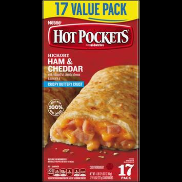 Hot Pockets Hickory Ham & Cheddar