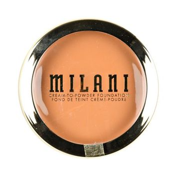 Milani Conceal + Perfect 2-in-1 Cream to Powder Smooth Finish Makeup - Sand Beige - 0.28oz