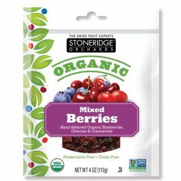 Stoneridge Orchards, Organic, Mixed Berries, 4 oz (pack of 4)
