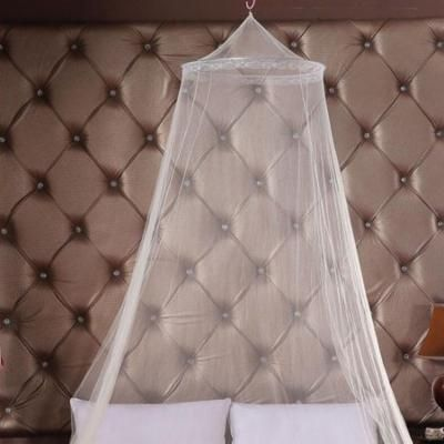 Hot Sale Outdoor Round Lace Insect Bed Canopy Netting Curtain Hung Dome Mosquito Nets(White)