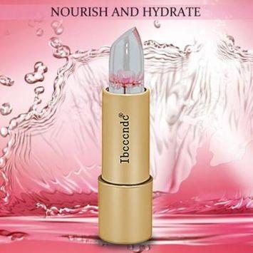 Ibcccndc Professional Use Women Magic Jelly Lip Stick Temperature Change Flower Essence Moisturizer Makeup Lip Balm