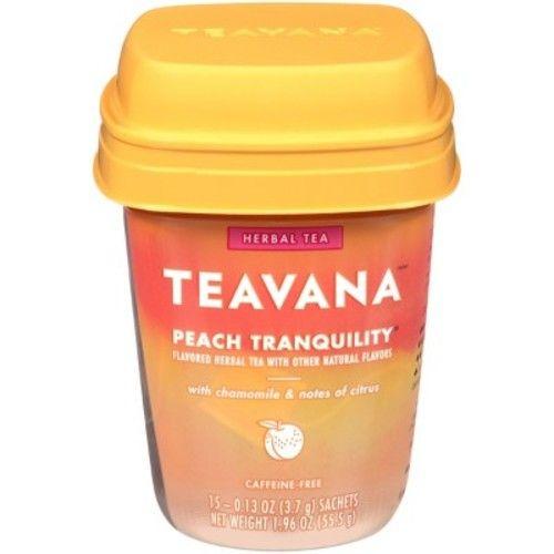 Teavana Peach Tranquility Tea Bags - 15ct/1.2oz