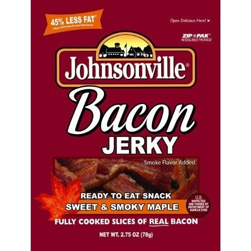 Johnsonville Sweet & Smoky MAPLE BACON JERKY [Sweet N Smoky Maple]