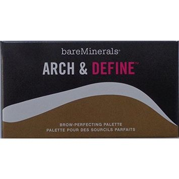 Bare Escentuals Arch & Define Brow-Perfecting Palette + Double-ended Arch & Define Brush