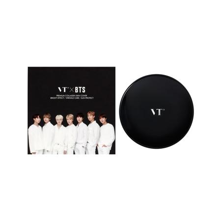VT x BTS Collagen Pact Black - #23 Natural Beige