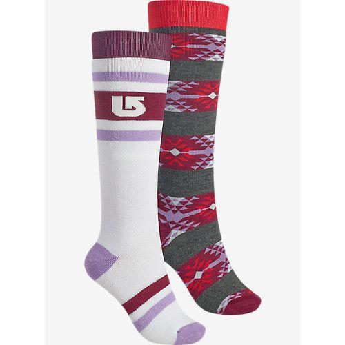 Women's Winter Socks Burton Women's Weekend Sock 2 Pack