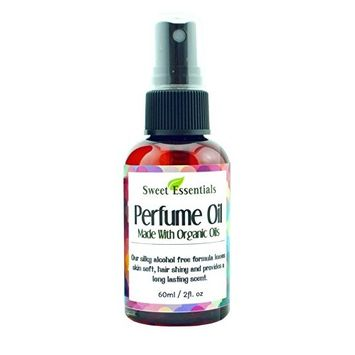 Sandalwood Patchouli | Fragrance / Perfume Oil | 2oz Made with Organic Oils - Spray on Perfume Oil - Alcohol & Preservative Free