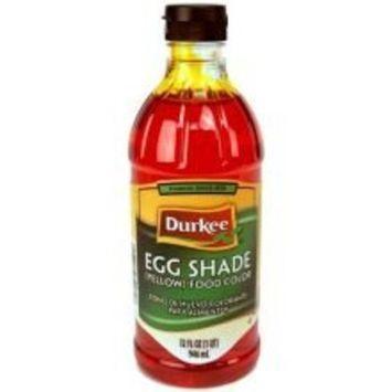 Durkee Egg Shade Food Color, 6 Bottles Per Case 32 Ounces Per Bottle.