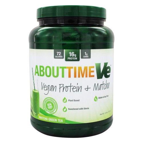 About Time Vegan Protein Plus, Non-gmo, All Natural, Lactose/gluten Free,...