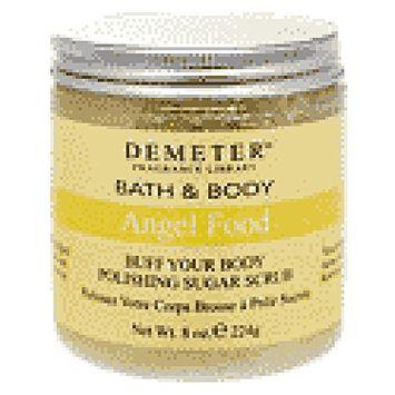 Demeter Buff Your Body Polishing Sugar Scrub 8 oz. Jar Orange Cream Pop Scent