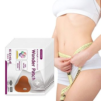5 PC Pure Body Natural Hot Cream Wonder Patch for Cellulite Reduction, Skin Toning and Slimming And Deep Muscle Relaxation