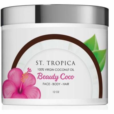 St. Tropica Beauty Coco 100% Virgin Coconut Oil jar