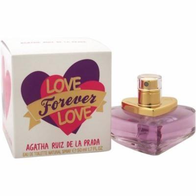 2 Pack - Agatha Ruiz De La Prada Love Forever Love Eau de Toilette Spray for Women 1.7 oz