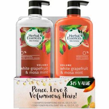 Herbal Essences® Bio:Renew White Grapefruit & Mosa Mint Shampoo and Conditioner Set