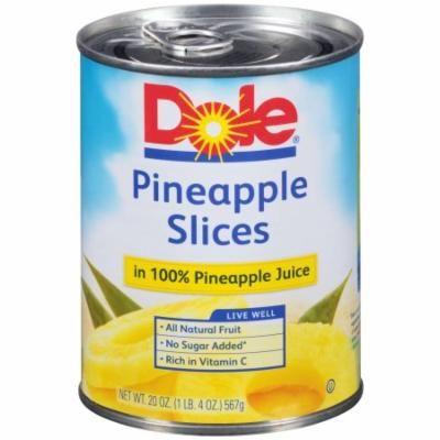Pineapple Slices In 100% Pineapple Juice (Pack of 20)