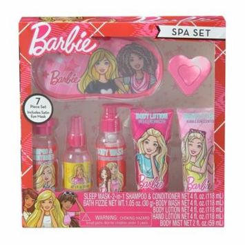 Barbie Bath & Body Spa Set, 7 pieces