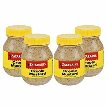 (4 Pack) Zatarain's Creole Mustard, 5.25 oz