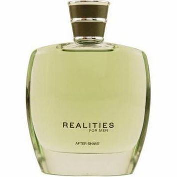 Realities (new) By Liz Claiborne For Men. Aftershave 3.4 oz