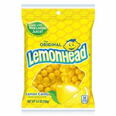 (4 Pack) Lemonhead, Original Lemon Hard Candy, 5.5 Oz