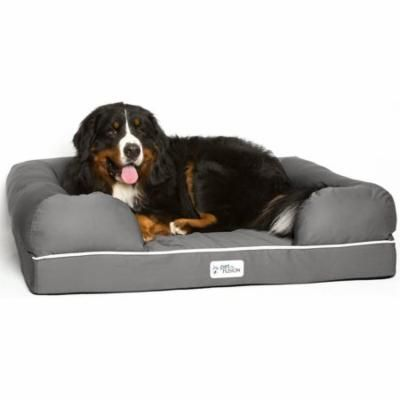 PetFusion Ultimate Dog Bed & Lounge: XL with Solid Memory Foam