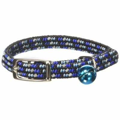 Products CCP7721BLU Li'l Pals Elasticized Reflective Adjustable Kitten Safety Collar with Bells, Blue, Elasticized kitten safety collar with bells offer the perfect.., By Coastal Pet