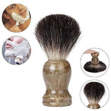 shaving brush, Voberry ZY Resin Handle Shaving Shave Brush Badger Hair Barber Salon Tool