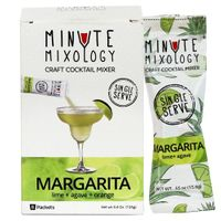 Minute Mixology Cocktail Mixers Margarita, 16 Packets)