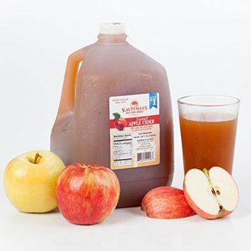 Kauffman's Homemade Fresh Apple Cider, Frozen for Shipping, Appr. 0.9 Gallon