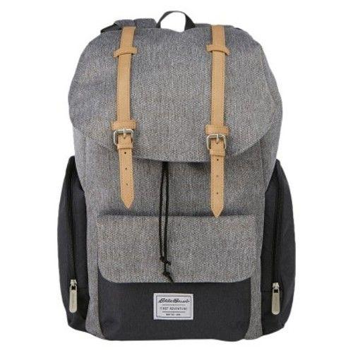 Eddie Bauer Backpack Diaper Bag - Gray