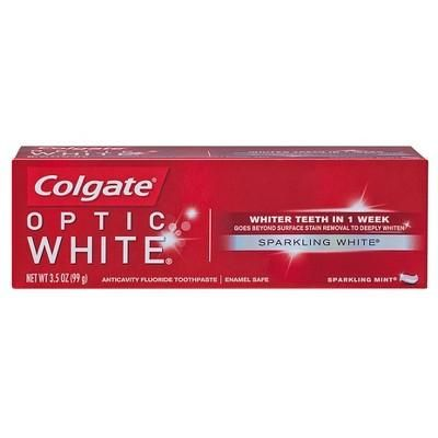 Colgate® Optic White Sparkling Mint Whitening Toothpaste - 3.5oz