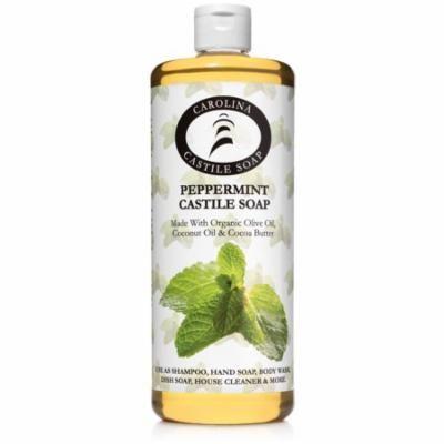 Peppermint Castile Soap - 32 oz - Oregon Tilth Certified Organic