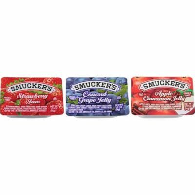 Smucker's Assortment 7 Plastic, .5 Ounce (200 Pack)