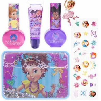 TownleyGirl Fancy Nancy nail polish and stickers with lip gloss and tin