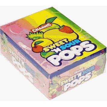 Charms Sweet & Sour Pops 48ct
