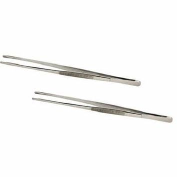 SE 513TW 12-Inch Stainless Steel Tweezers - TWO PACK