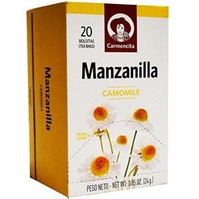 Carmencita Spanish Chamomile tea / Te de Manzanilla 20 bags