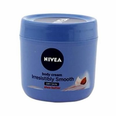 Nivea Irresistibly Smooth Body Cream Dry Skin Shea Butter 400 ml
