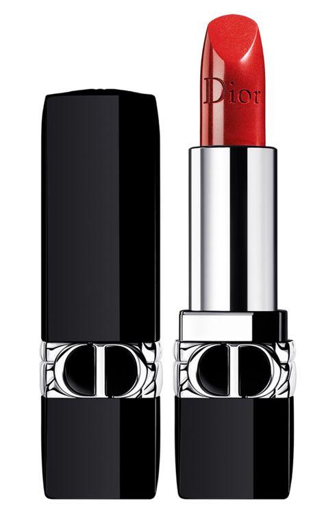Dior Rouge Dior Refillable Lipstick - 999 / Metallic
