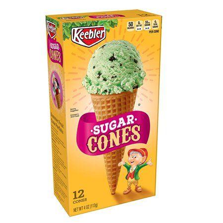 Keebler Ice Cream Sugar Cones