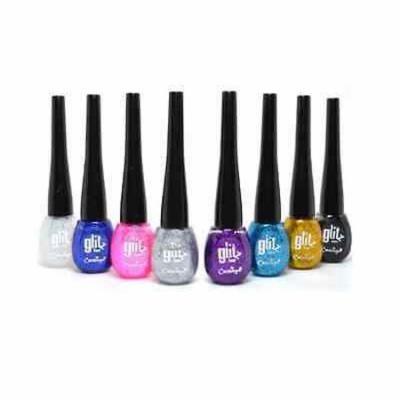 LWS LA Wholesale Store Cherimoya 48 pcs Full Set Glitter Liquid Eyeliner compare to Italia Deluxe
