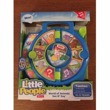 Fisher Price See n Say Farmer Says Toy Baby Kids Toddler Classic Play Learning