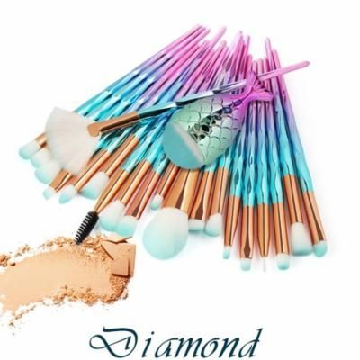 Outtop 12pcs Docolor Eye Makeup Brushes Set Professional Cheap Mermaid Makeup Brushes