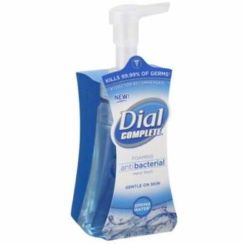 Dial Complete Spring Water Anti-Bacterial Foaming Hand Soap - 7.5 Oz