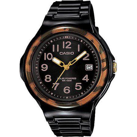 Women's Casio Resin Watch - Brown