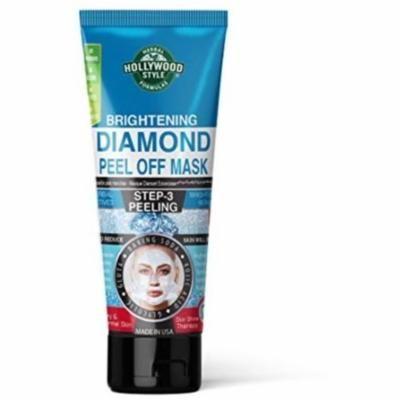 3 Pack - Hollywood Style, Brightening Diamond Peel-Off Mask 3.2 oz