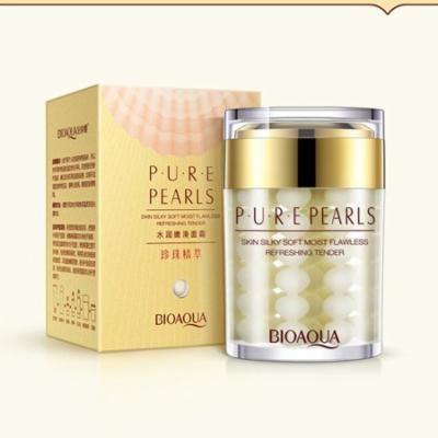 BIOAQUA Brand Pure Pearl Cream Skin Care Hyaluronic Acid Deep Moisturizing Anti Wrinkle Face Care Whitening Essence Cream