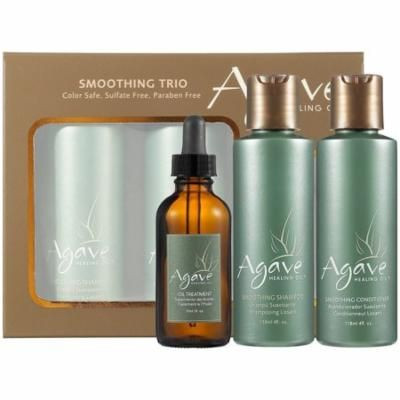 Bio-Ionic Agave Take-Home Smoothing Haircare Trio - includes 2 oz. Oil Treatment, PACK OF 1