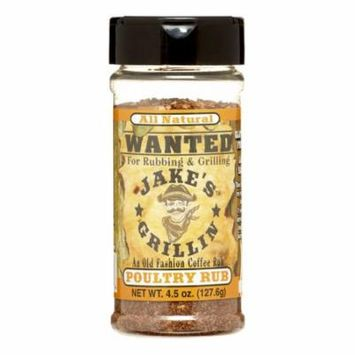 Jakes Grillin Rub Poultry,4.5Oz (Pack Of 12)
