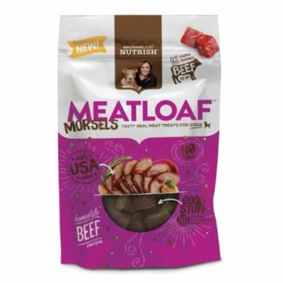 Rachael Ray Nutrish Meatloaf Morsels Dog Treats, Homestyle Beef Recipe (Pack of 10)